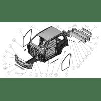 PARAGOLPES O DEFENSA DELANTERA ORIGINAL LIGIER X-TOO R X-TOO S