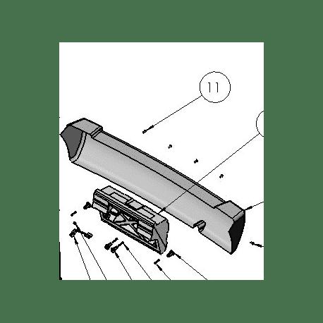 PARAGOLPES O DEFENSA TRASERA LIGIER OPTIMAX ORIGINAL