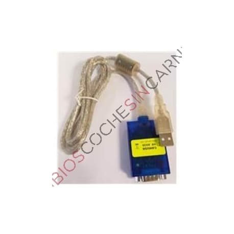 CABLE MODULO DE CAM BUS CARGA SOFTWARE AIXAM ELECTRICOS