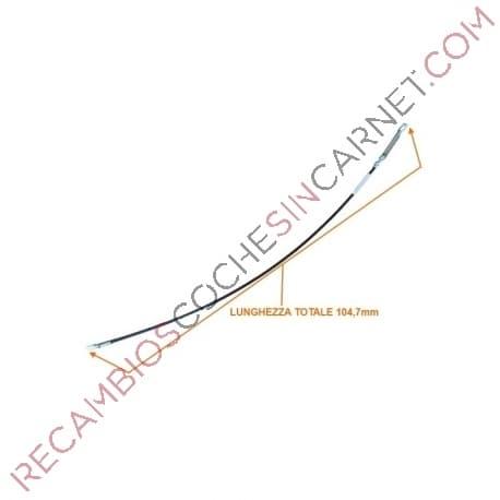 CABLE INVERSOR Cable Caja Cambio Aixam 3AA014