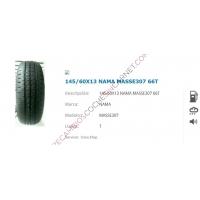 NEUMATICO 145/60X13 - 66T NAMA MASSE307