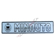 ADHESIVO MATRICULA MINAUTO 0XA212