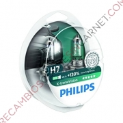 KIT DE 2 LAMPARAS H7 PHILLIPS X-TREMEVISION